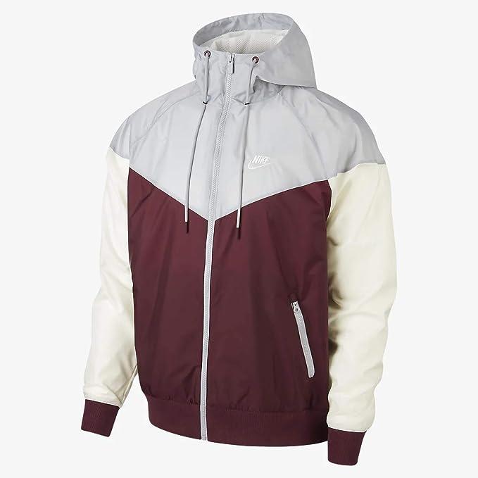 buy online 2bea5 bc9ef Nike Sportswear Windrunner, Giacca Uomo, Rosso (Night Maroon Wolf Grey Sail  681), Large  Amazon.it  Abbigliamento