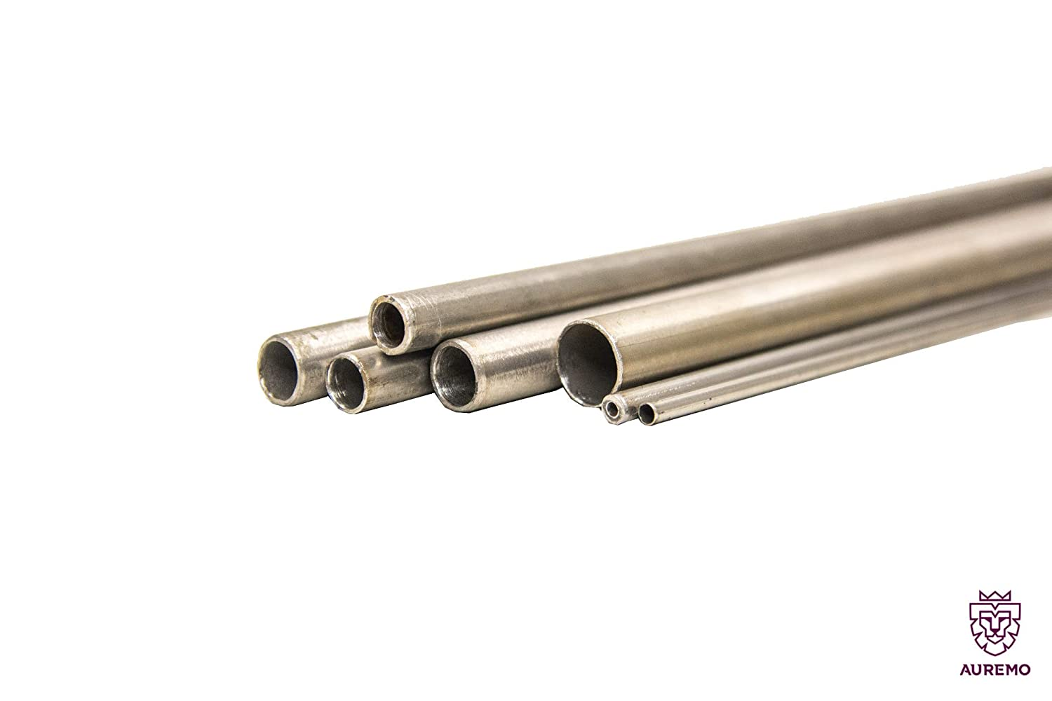 14301, Stainless Steel Tube v2a 60,3 x 2,0 mm Stainless Steel Pipe sanded