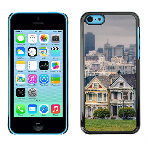 apple-iphone-5c-snap-on-series-plastic-back-case-shell-skin-cover-victorian-houses-in-alamo-square-s