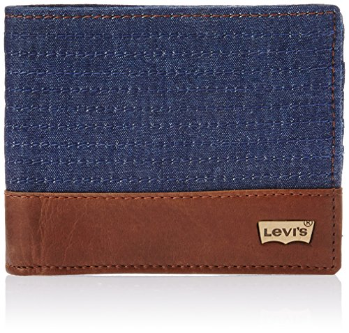 Levis FW 14 Blue Men's Wallet (19194-0002)
