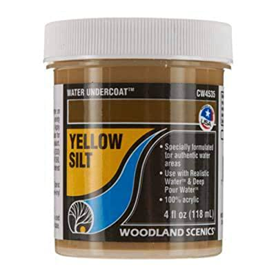 Woodland Scenics WOOCW4535 Water Undercoat, Yellow Silt: Toys & Games