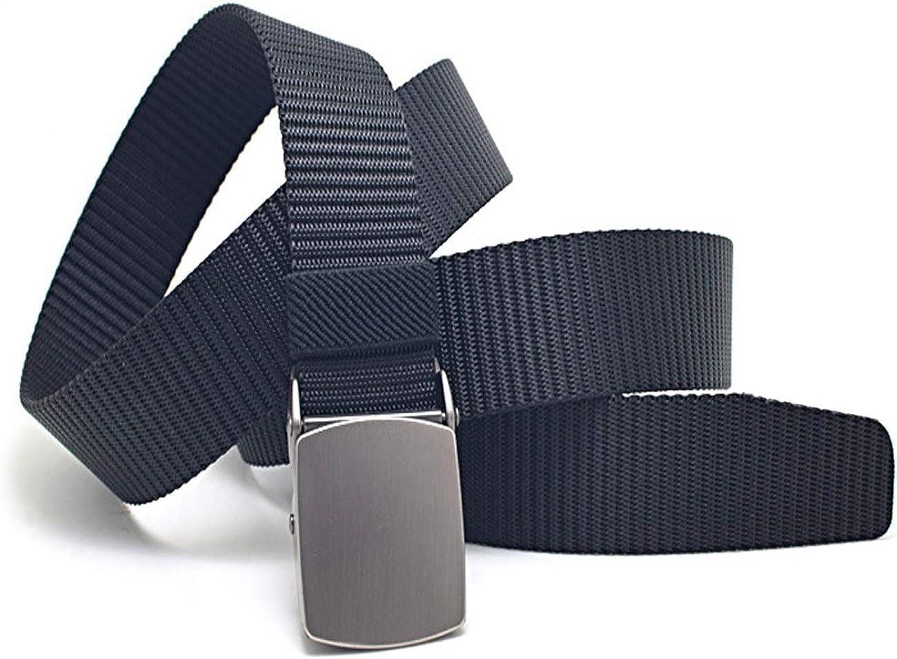 Lona Nylon con Hebilla Cl/ásica FUREIN Cintur/ón T/áctico Militar Ajustable para Hombre y Mujer Unisex Largo Recortable