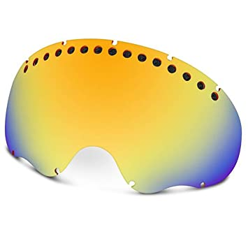 oakley a frame mens replacement lens snow goggles accessories fire one size