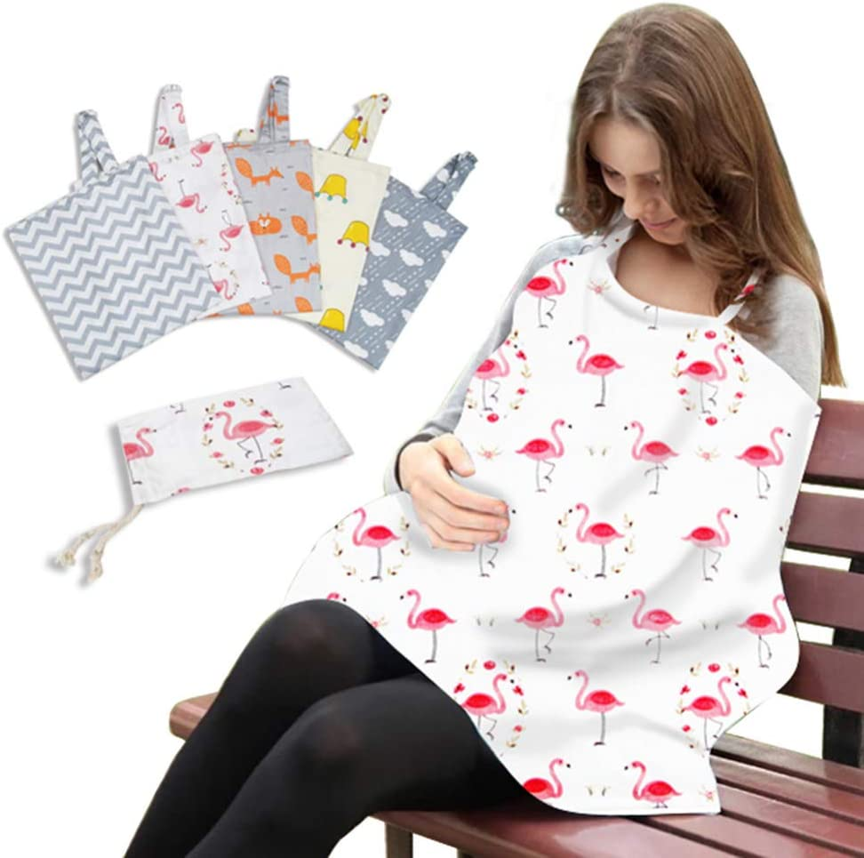 Healifty Baby Nursing Cover Breastfeeding Protection for Baby Infants Feeding Cover with Storage Bag Baby Shower Gifts Cloud