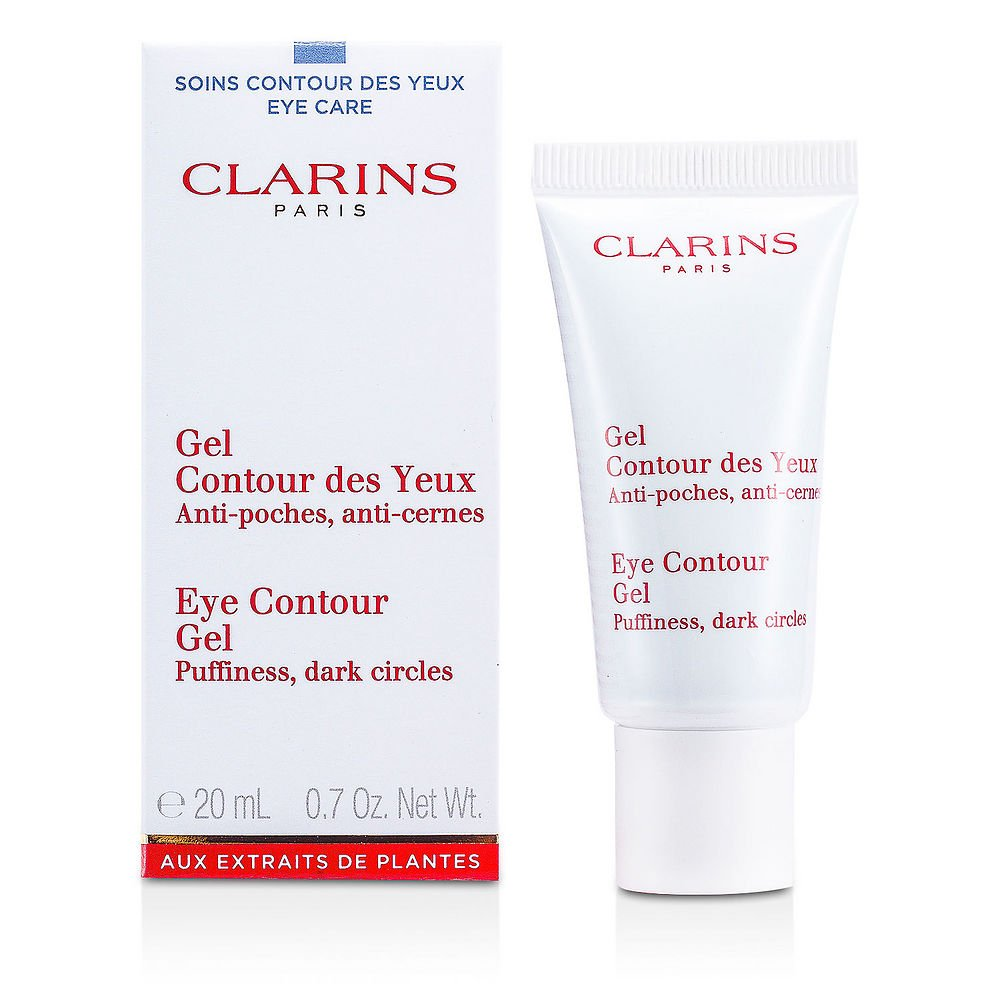 Clarins by Clarins New Eye Contour Gel--20ml/0.7oz for WOMEN ---(Package Of 4)