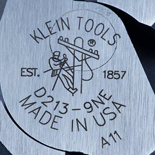 092644700422 - Klein Tools D213-9NE 9-Inch High Leverage Side Cutting Plier,Standard carousel main 3