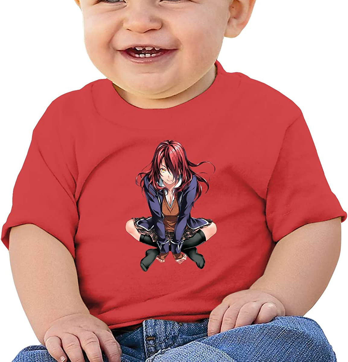 LIIREN Rindo Kobayashi Tee Customized Summer T Shirt for Toddler Black