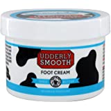 Udderly Smooth Foot Cream with Shea Butter, lightly scented, 8 Ounce jar