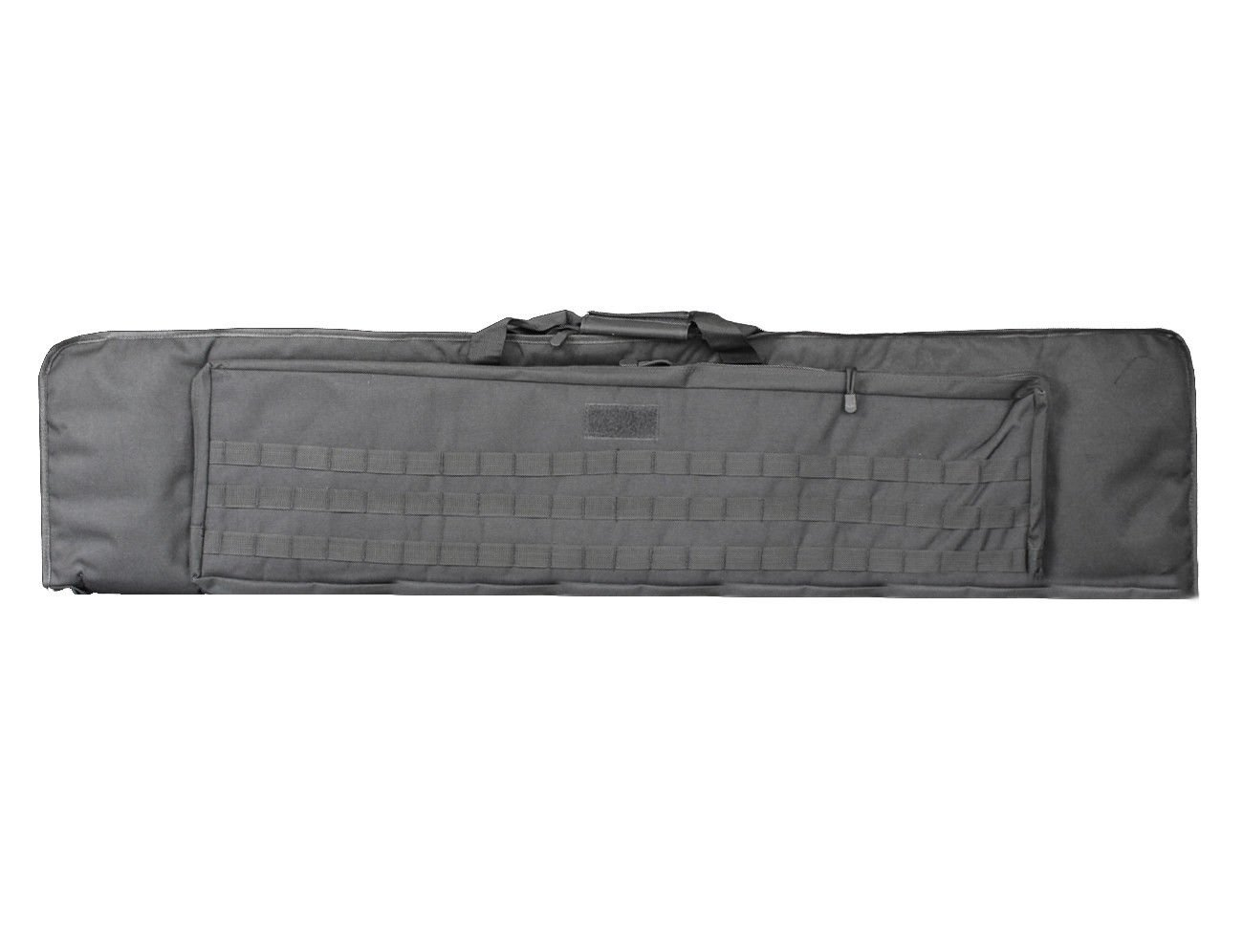 A&N Airsoft Gun Rifle Large Carrying Bag Pack Storage Case 120cm MOLLE w/ Accessory Pouches Webbing Compartments