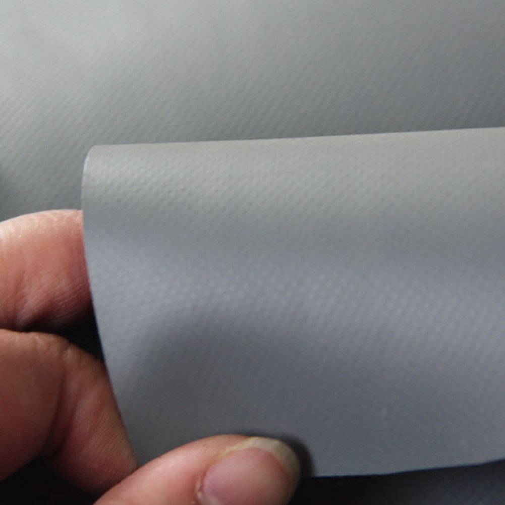 LIANGJUN オーニング 増粘 PVCコーティング 日焼け止め 防水 シェードクロス キャンバス アウトドア 650g/m²、 6サイズ、 使用可能な5色 ( 色 : グレー , サイズ さいず : 3X5m ) B07CNXKNVK 3X5m|グレー