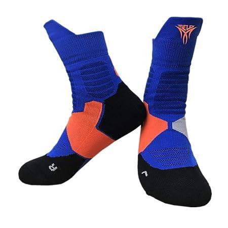 WLDSH Calcetines de Baloncesto Calcetines Deportivos for Hombres ...