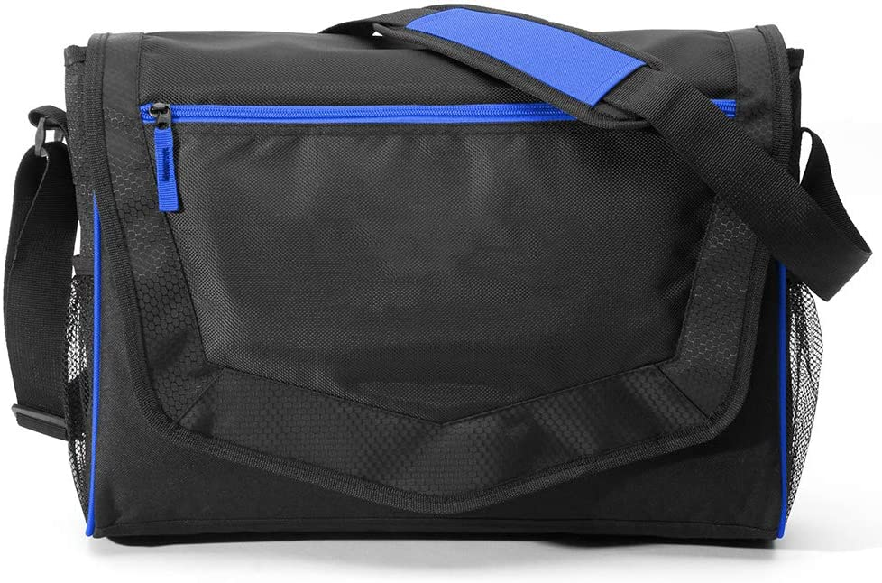 "Wanderer Messenger Tech Bag - 14"" Laptop Computer and Tablet Shoulder Bag Carrying Case - Lightweight Shoulder Bag for Laptops MacBook and Accessories, Padded Laptop Sleeve"