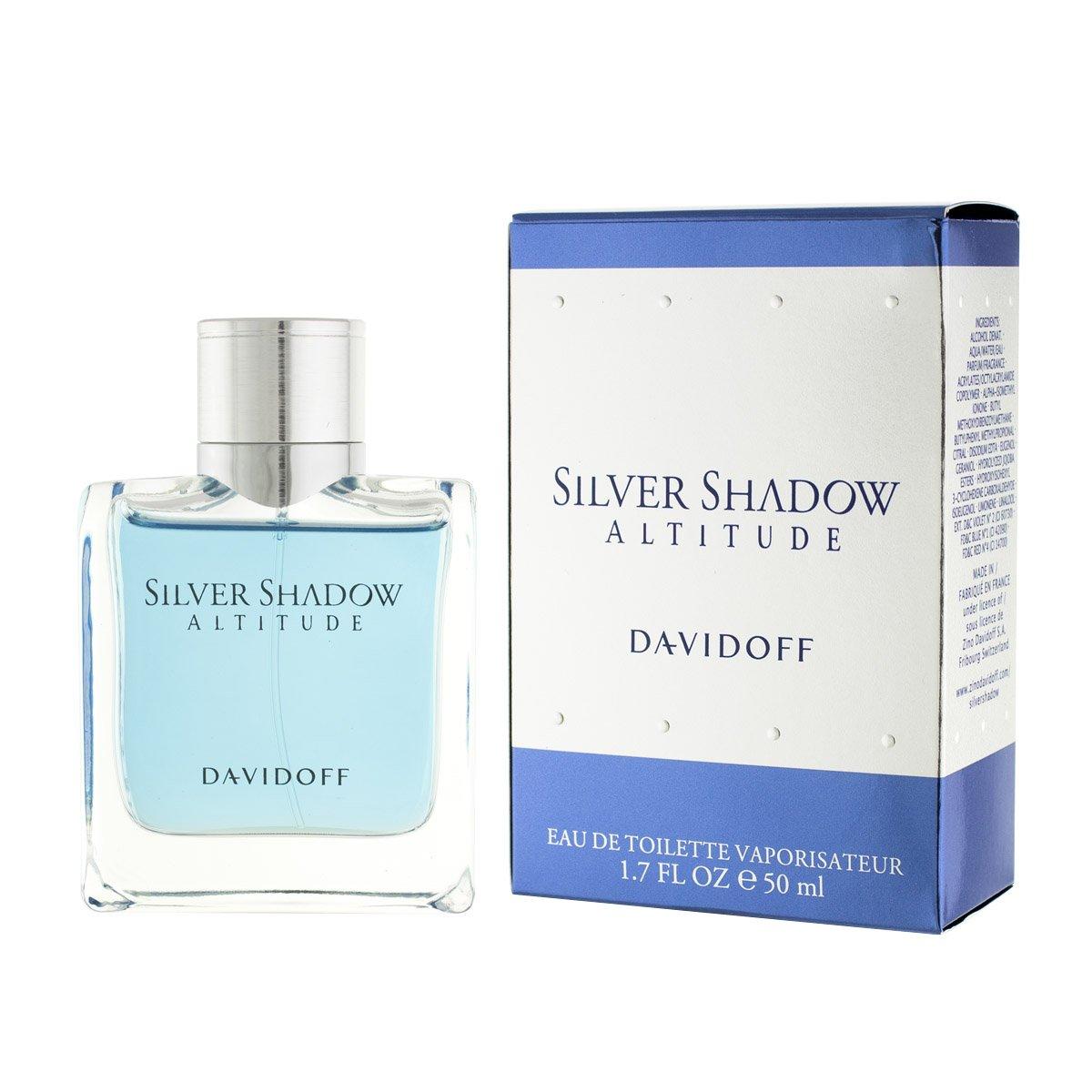 Davidoff Silver Shadow Altitude Eau De Toilette 50 Ml Man Amazon