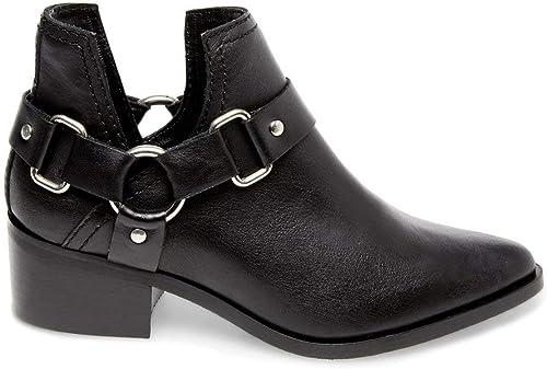 Steve Madden Women/'s NEW Austin Black Ankle Booties SIZES