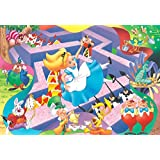 70-piece kids puzzles Alice in Wonderland strange dreams children jigsaw puzzle