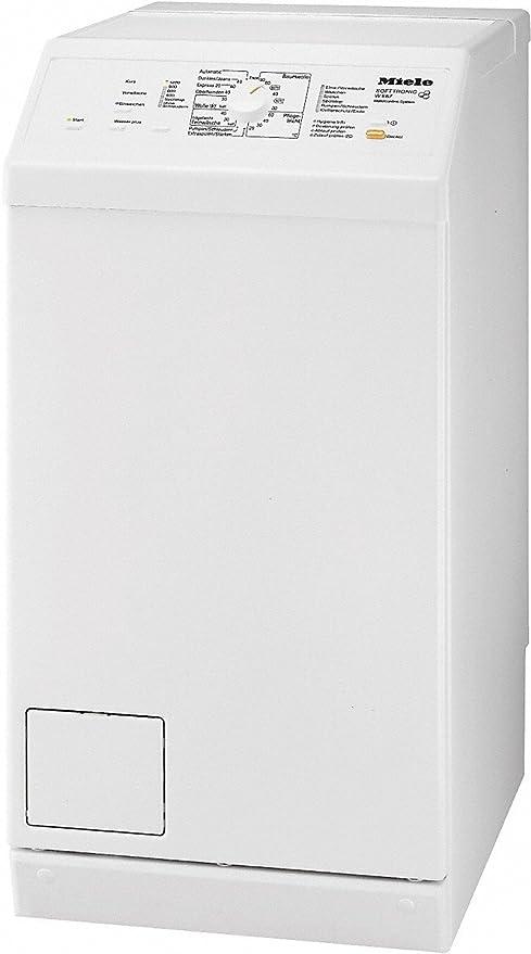 Miele W 667 lavadora carga superior Loto Blanco: Amazon.es ...
