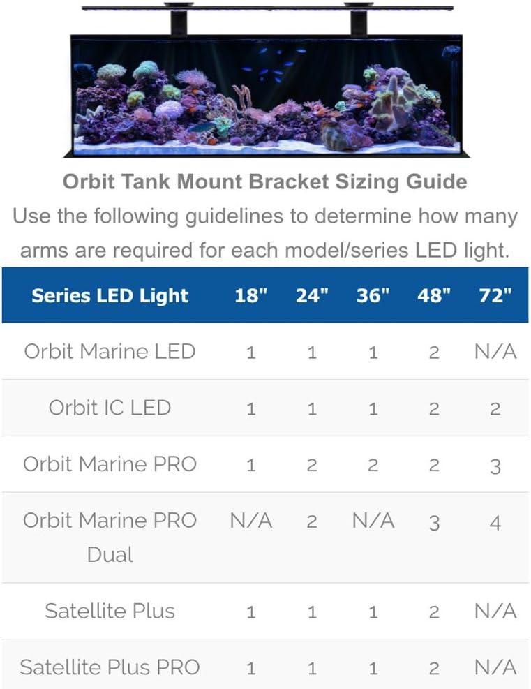 Current USA Orbit LED Adjustable Tank Mount Bracket