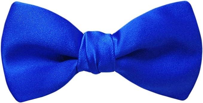 JOSVIL Pajarita Raso Azul Electrico: Amazon.es: Ropa y accesorios