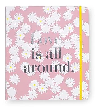 c2d85e6299c Amazon.com: Kate Spade New York Bridal Wedding Planner Organizer Ring  Binder, Love Is All Around: Clothing
