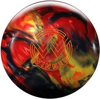 Roto-Grip Winner Pearl Oberfläche, Rot/Gold/Holzkohle/Schwarz, Reaktiv Bowlingball für Einsteiger und Turnierspieler - Die Bowlingkugel Macht bei richtiger Spielweise eine Bogenbewegung