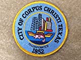 CITY OF CORPUS CHRISTI TEXAS Embroidery Sew On Applique Patch