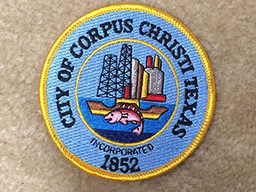 CITY OF CORPUS CHRISTI TEXAS Embroidery Sew On Applique Patch by ade_patch