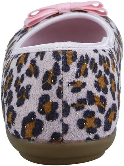 The Doll Maker Suede Leopard Ballet Flat FBA1631103A-P