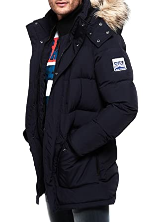 Parka Superdry SD Expedition Azul Marino L Marino: Amazon.es: Ropa y accesorios
