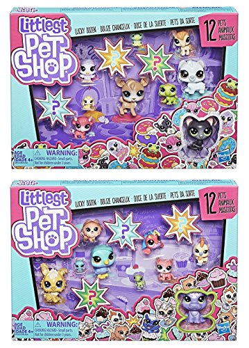 LPS Littlest Pet Shop Lucky Dozen Wave 1 Set -