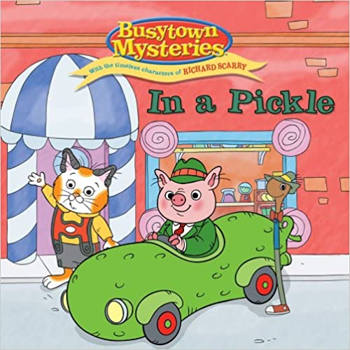 Lataa maksuttomia macle-kirjoja In a Pickle (Busytown Mysteries) 1416991832 Suomeksi CHM by Natalie Shaw