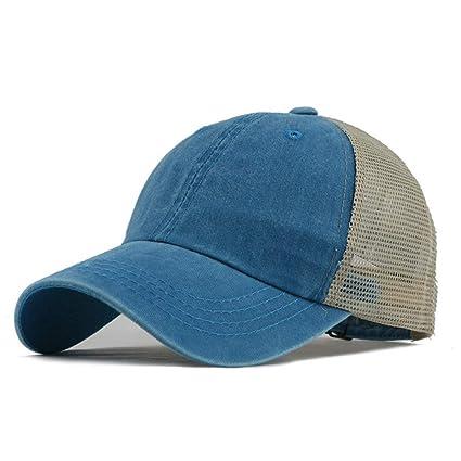 02ffb815ba8fd JJJRMP Gorra De Béisbol De Los Hombres Imprimir Sombrero De Malla De Verano  Sombreros para Hombres