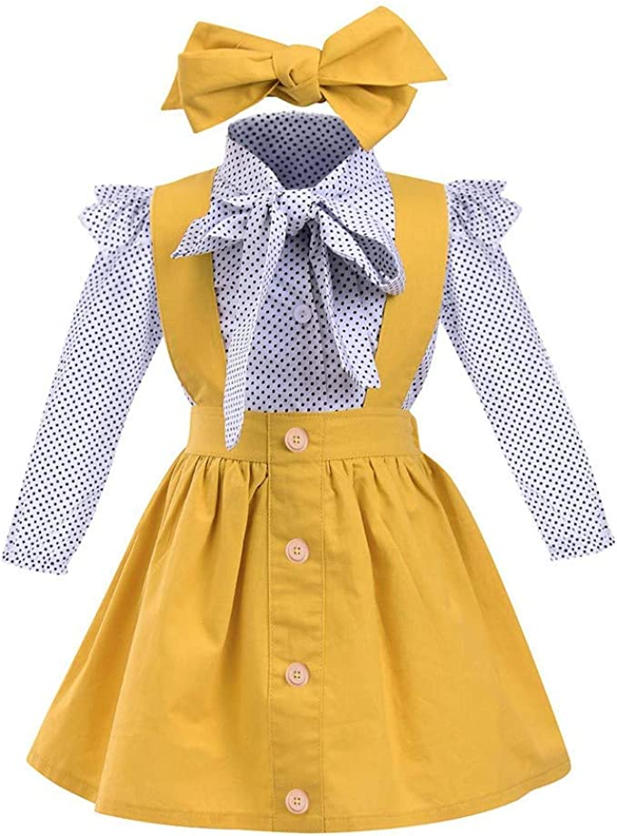 WEUIE Toddler Little Girl Summer Clothes Kids Ruffle Bowknot Vest Tops Plaid Shorts Pants 2pcs Baby Girl Outfit Suit