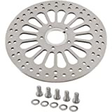 SHARKROAD 1 Piece Front Brake Rotor for Harley Davidson Touring Sportster Softail Dyna, Superior Heat Dissipation 11.5…