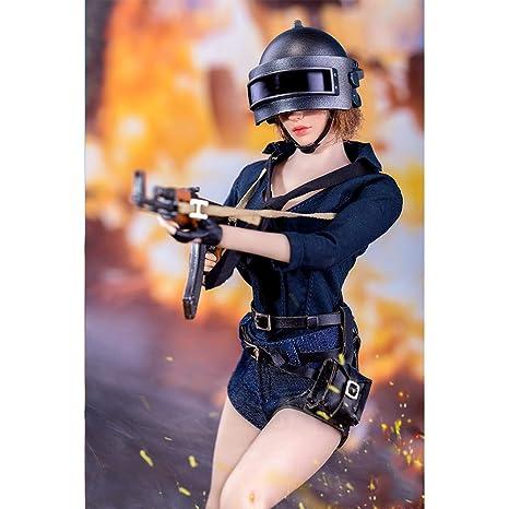 SZDM - Conjunto de Vestido de Combate 1/6 de Pollo para HT ...