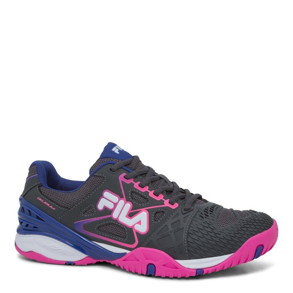 Fila Women's Cage Delirium Athletic Sneakers, Grey Mesh, 9 M