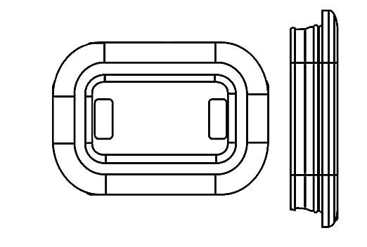2ZR 357 026-041 Rückfahrleuchte Rückfahrscheinwerfer Rückfahrlicht NEU HELLA