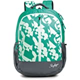Skybags 32 Ltr Green-Grey Casual Backpacks