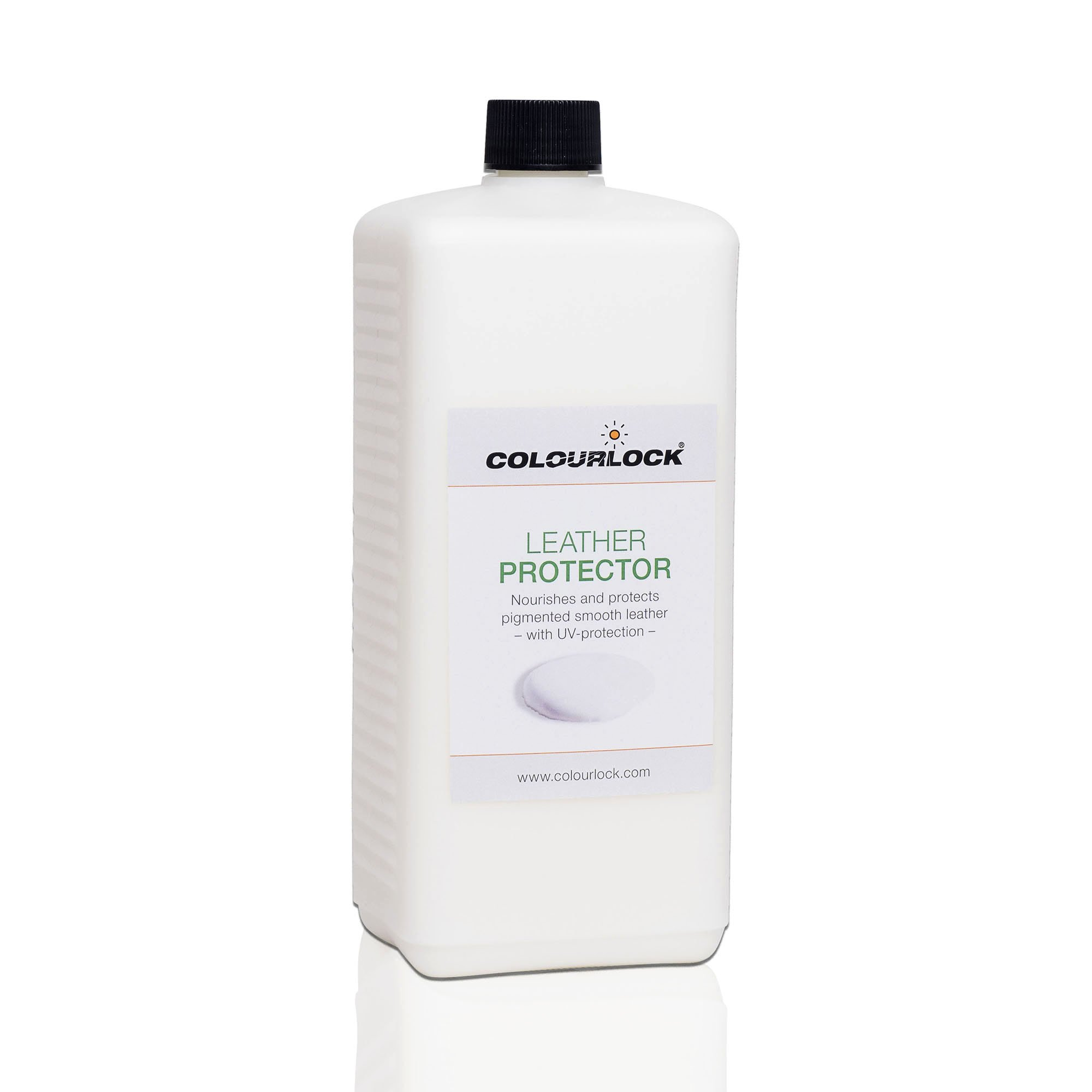 COLOURLOCK Leather Protector feed, cream, restorer for car leather interiors, furniture, bags and clothing (1 Litre)
