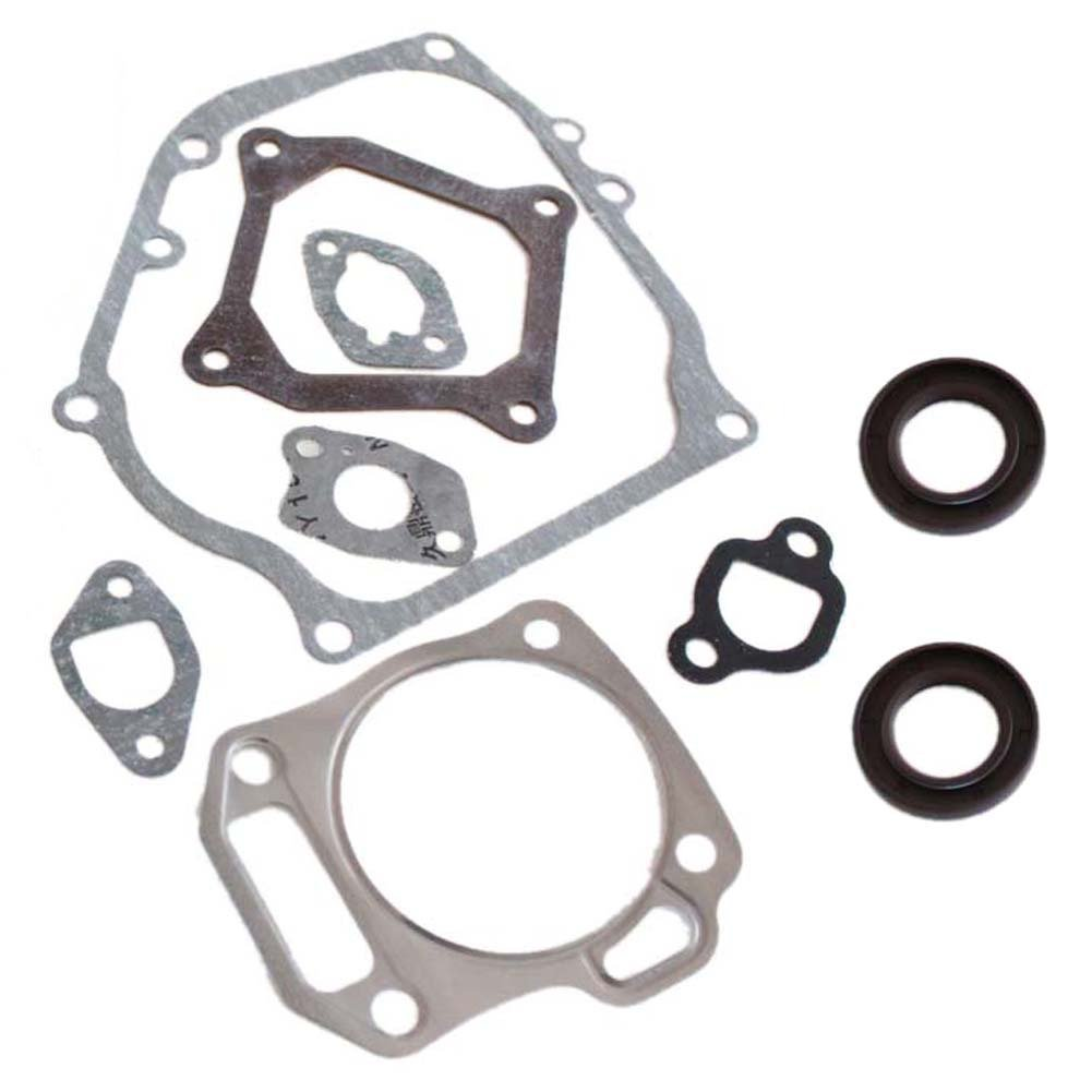Cozy Pack of Cylinder Head Exhaust Muffler Full Gaskets Crankcase Oil Seal for Honda Gx160 5.5hp Engine 00406