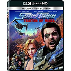 Starship Troopers: Traitor of Mars now on Digital and 4K, Blu-ray, DVD Sept. 19 from Sony Pictures