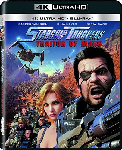 Starship Troopers: Traitor of Mars [4k Ultra HD] [Blu-ray] -  Rated R, Shinji Aramaki