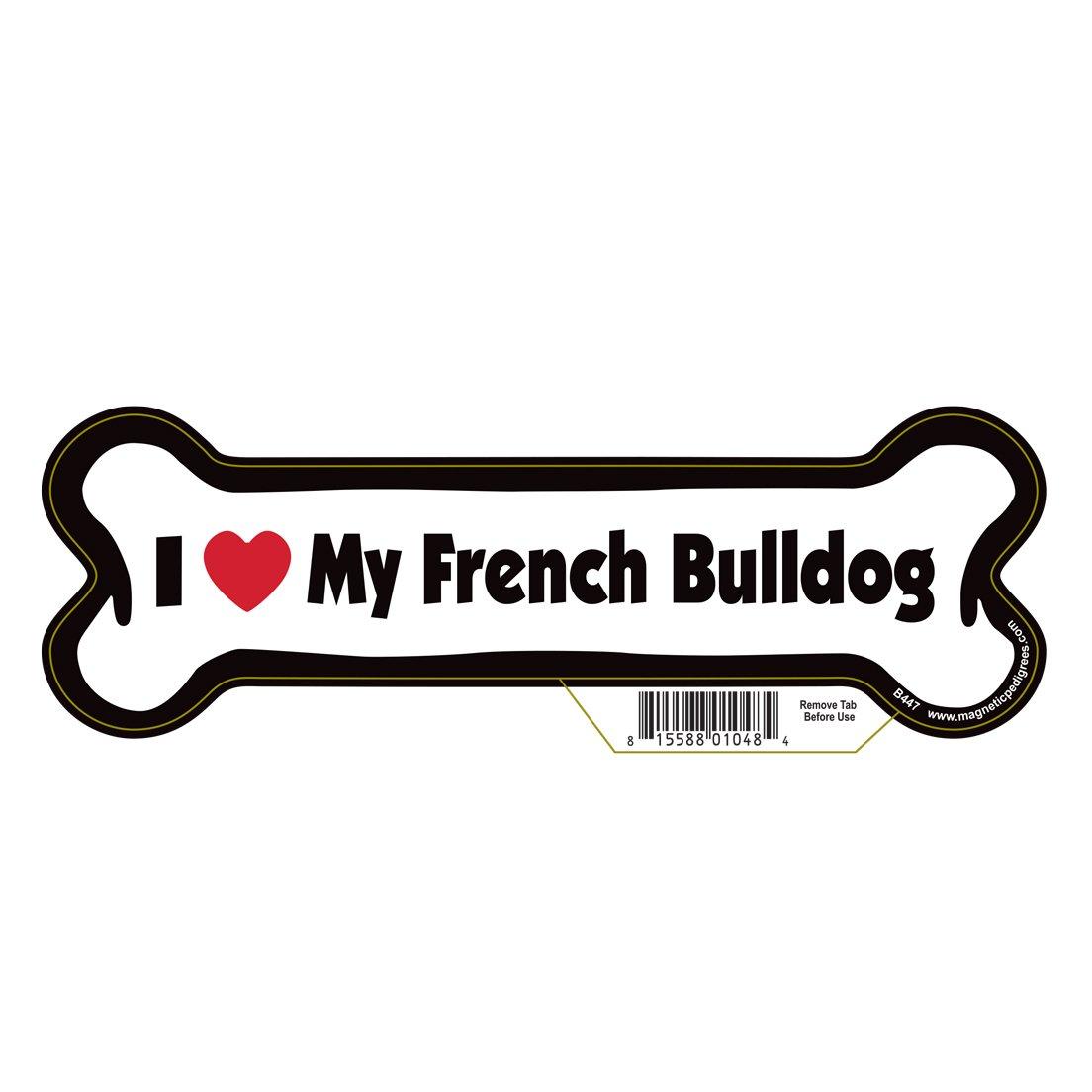 Pet Gifts USA French Bulldog Dog Bone Magnet