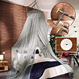 Court luxury,bold heightening,no holes to hit the floor,stent nets/princess wind fashion hanging mosquito nets-A 200x200cm(79x79inch)