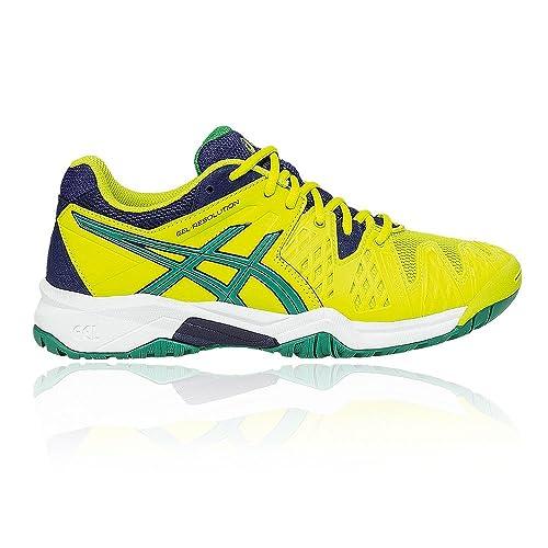 Asics Gel-Resolution 6 GS - Zapatillas de Tenis Unisex Adulto