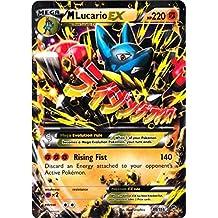 M/Mega Lucario (55/111) - Pokemon Card XY Furious Fists Holo