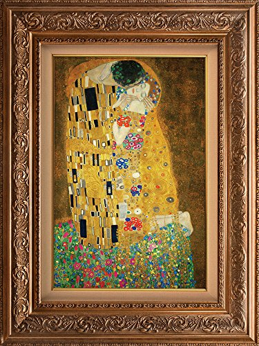 Creative 3D Visual Effect Wall Mural The Kiss by Gustav Klimt Peel ...
