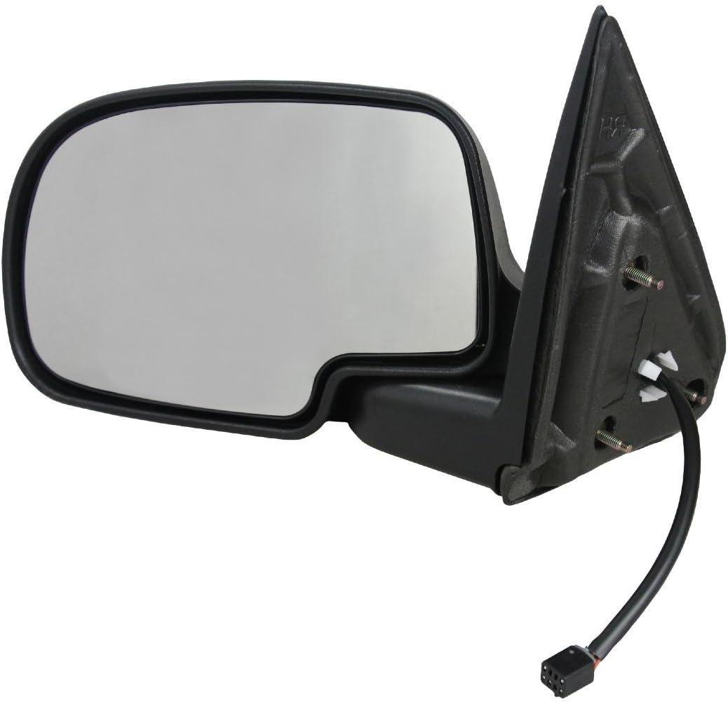 Fits 03-06 Chev Avalanche Suburban Left Driver Power Mirror Heat Manual Fold