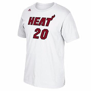 Justise Winslow Miami Heat NBA Adidas color blanco nombre y número jugador equipo de jersey color