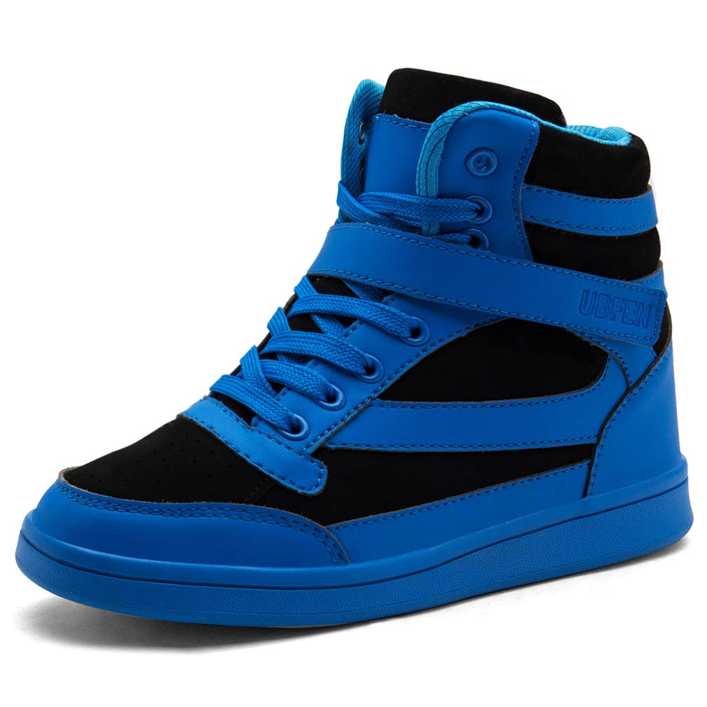 bb39a9f3f83 Galleon - UBFEN Women's Shoes Hidden Wedges 5.5cm Fashion Sneakers ...