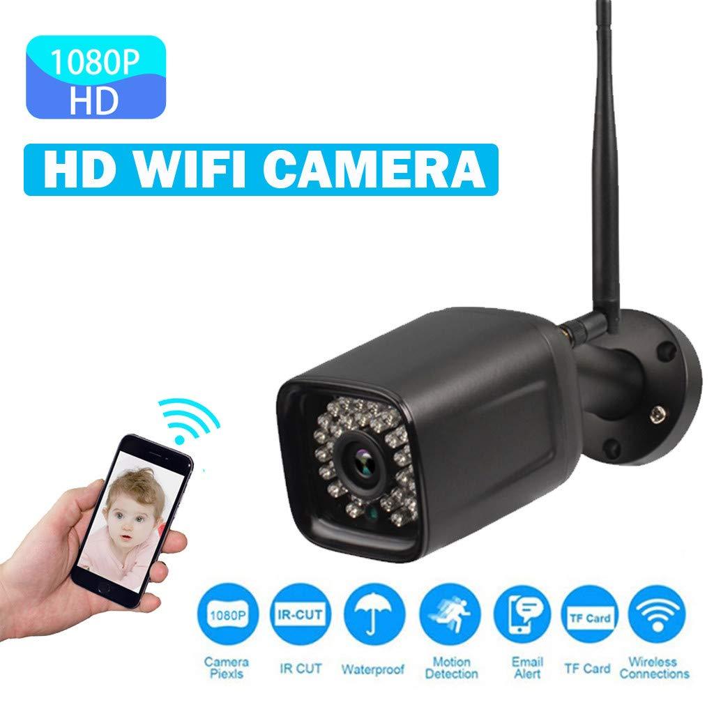 Javpoo Wireless HD 1080P WiFi al Aire Libre IP 2 Maneras de ...